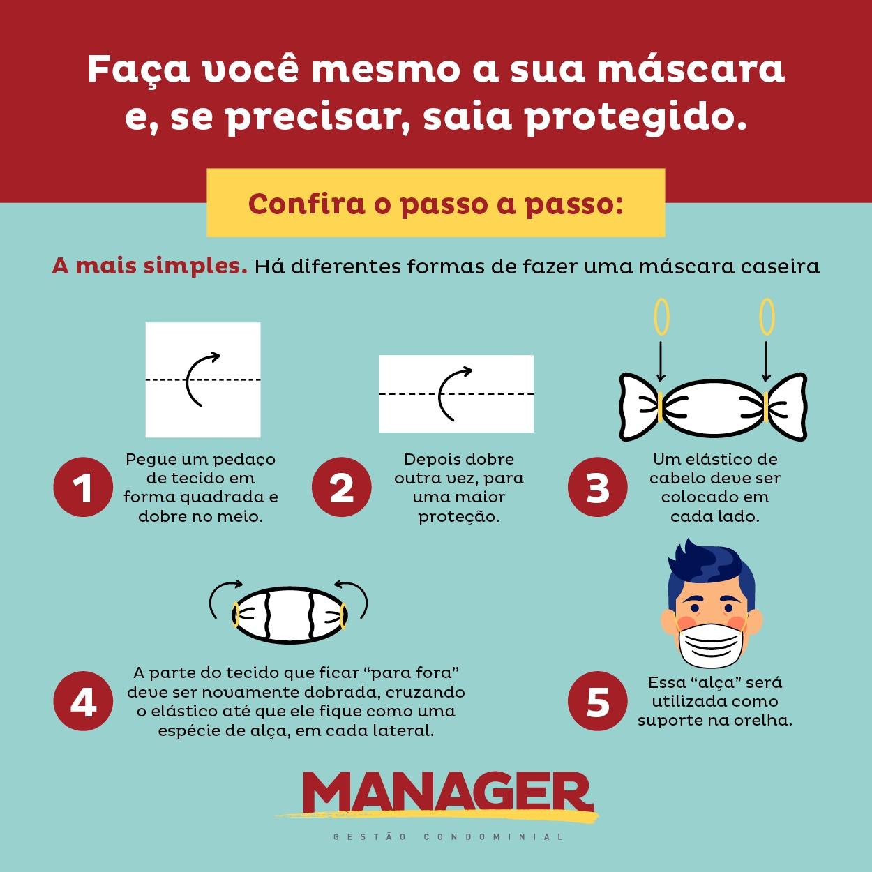 Máscara : saiba como fazer